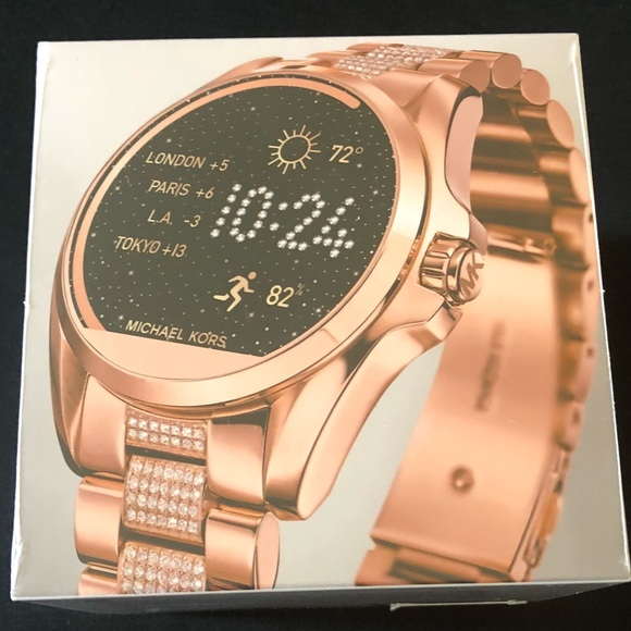 8836bd17ab70 Michael Kors Access Bradshaw Smartwatch Rose Gold